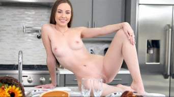Naomi Blue in 'Happy Thanksgiving'